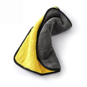 mikrošķiedras audums universāls dzeltens